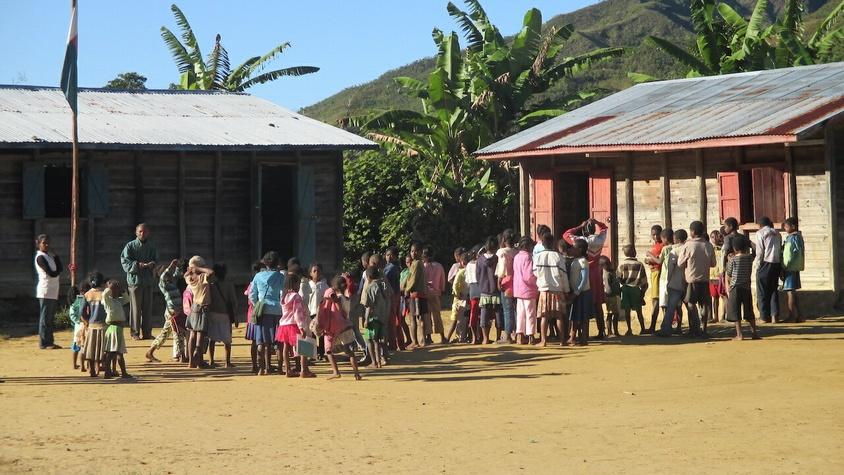 Réhabilitation de 4 salles de classe d'une école primaire